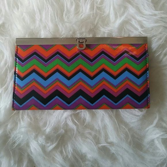 Super Cute Chic Wallet (Missoni Type Pattern) Super Cute Chic Wallet . Has a Missoni look and feel, not actually that brand though. Bags Wallets