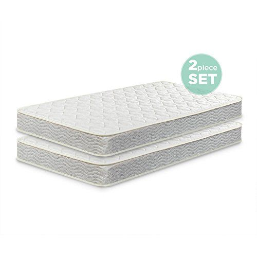 Standard 6 Inch Twin Pack Bunk Bed Mattress Firm Support