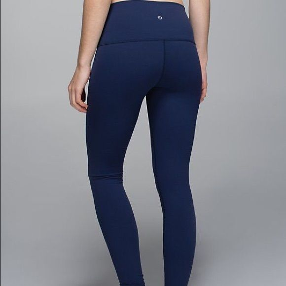 b4270c873 Lululemon leggings Navy blue lululemon leggings wunder under style. I  prefer to sell ♏️ or lululemon athletica Pants Leggings
