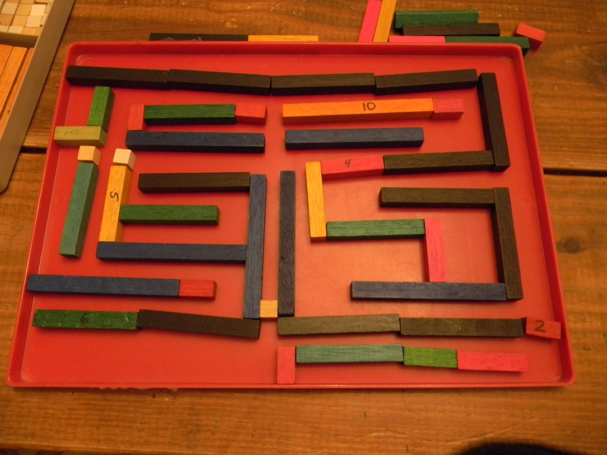 A Maze Ing Use Of Cuisinaire Rods With Images