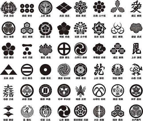Kamon 家紋 Are Japanese Emblems Used To Decorate And Identify