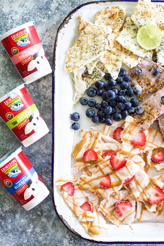 Easy Yogurt Bark (Three Ways) Yogurt, Dessert recipes