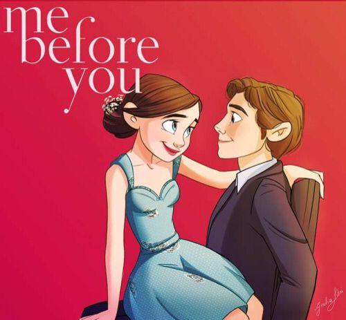 Me Before You Fan Art Romantic Movies Romance Movies Jojo Moyes