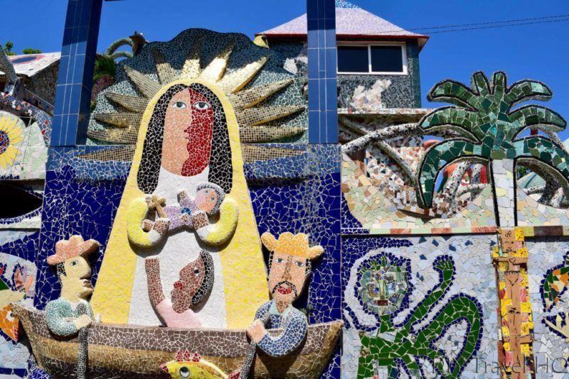 Buscando En Cuba Y Vean Lo Que Hemos Encontrado Fusterlandia Lugar De Arte Tipo Picasso En Un Espectacular Barrio No Me Crees En Pleno Cuba No Te La Pie