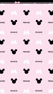 Minnie Mouse Starbucks Girl Home Screens Lock Screens Iphone Wallpaper Girly Pink Wallpaper Iphone Pink And Black Wallpaper