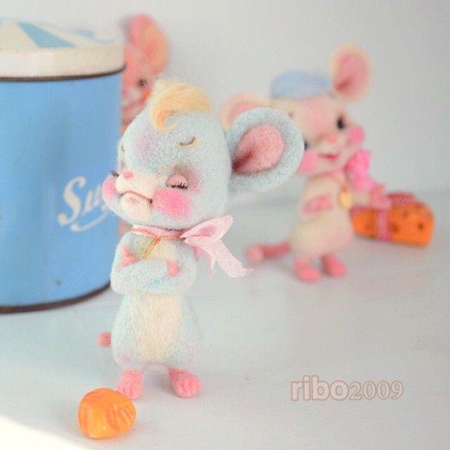 """털이 세계관 ♡ """"펠트 인형""""을 다루는 ribo 구로사와 奈見 씨의 작품이 귀여움 100 %! - 카리스마 토크 로리타 가리 등의 파랑 문자 계 패션 미디어"""