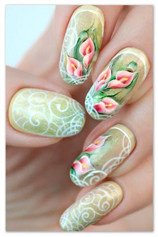 Картинки по запросу раскраска ногтей (с изображениями ...