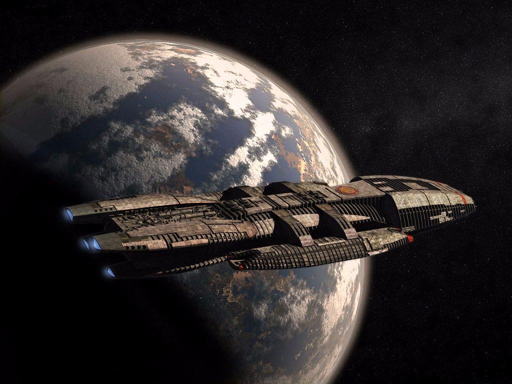 Battlestar Galactica: Humanity's Show | The Musings ...  |Battlestar Galactica Spacecraft