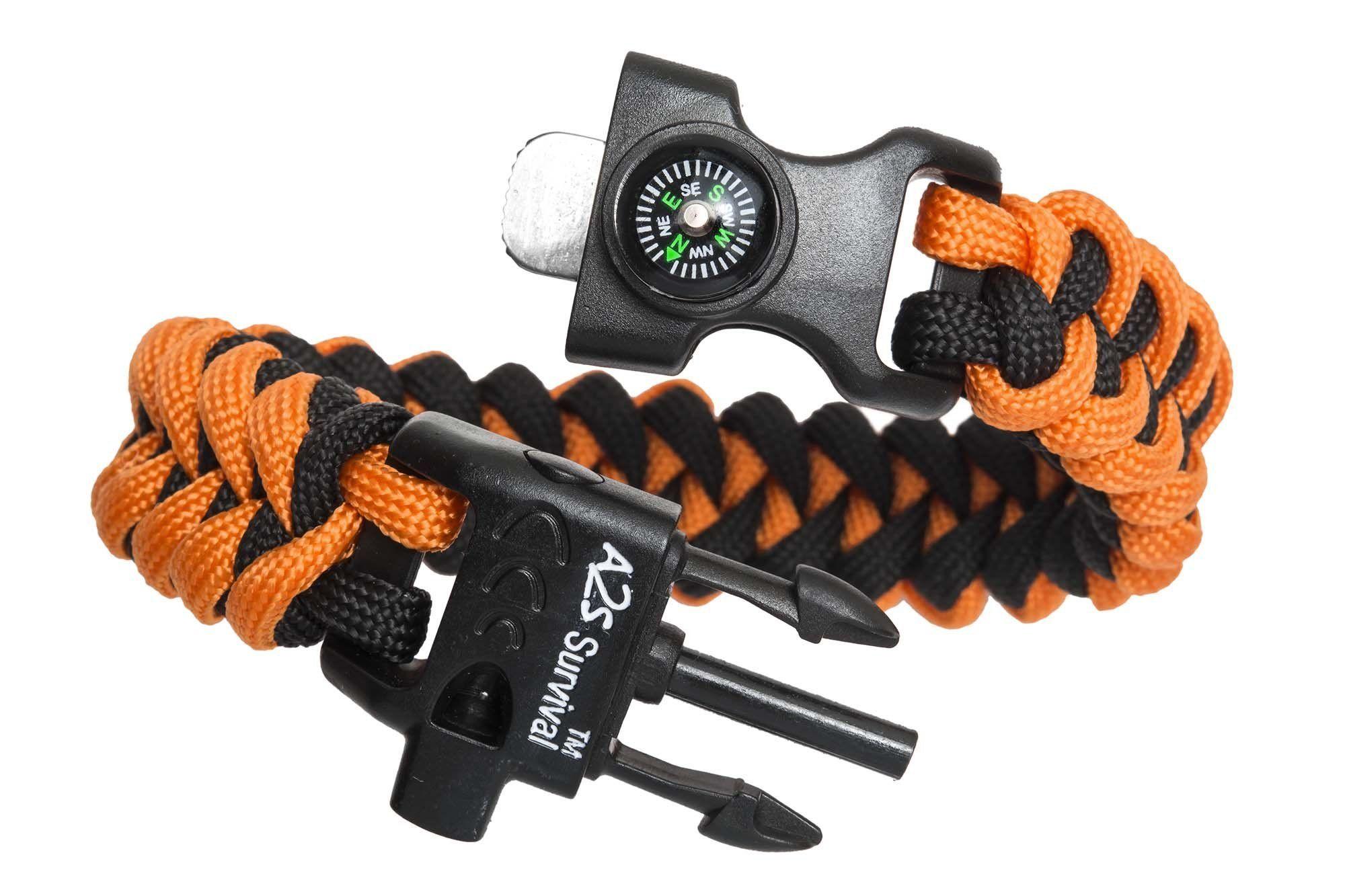 A2S Protection Paracord Bracelet K2Peak – Survival Gear