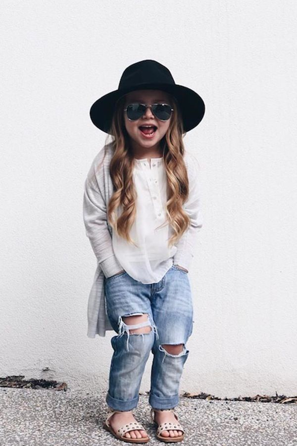 Trendy Kids' Outfits You'll Want for Yourself The Floppy Hat: 5 Trendy Kids' Outfits You'll Want for Yourself @PureWowThe Floppy Hat: 5 Trendy Kids' Outfits You'll Want for Yourself @PureWow