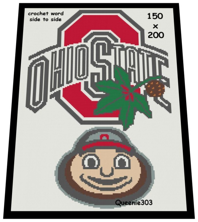 Ohio State Buckeyes Crochet College Basketball