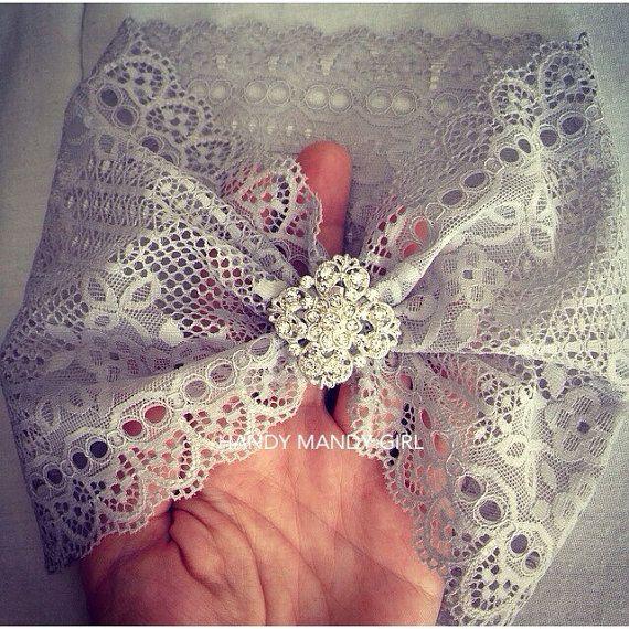 Lace sparkly baby turban-fancy baby turban by HandyMandyGirl
