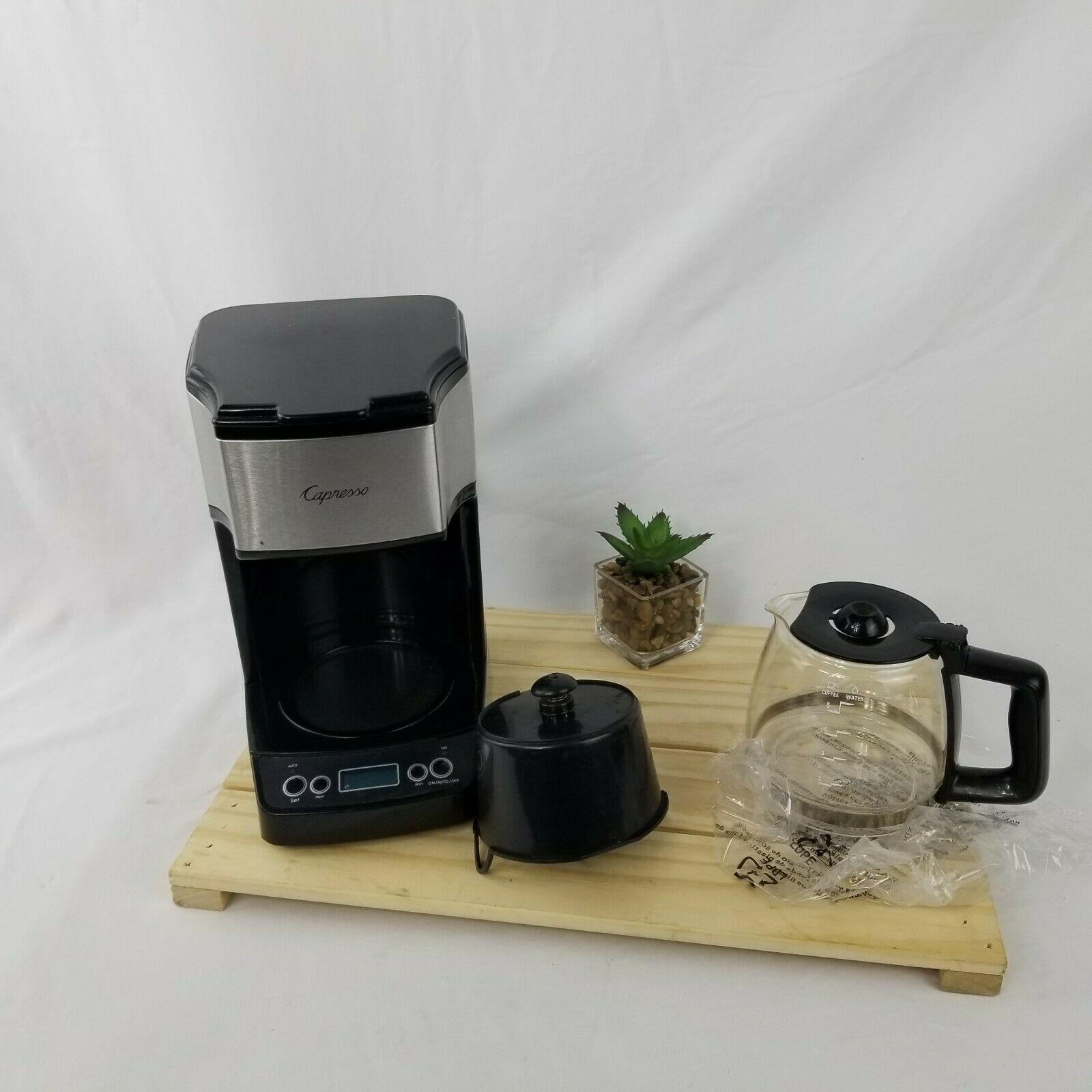 Capresso Mini Drip 5 Cup Personal Coffee Maker Machine New No Box Model 426 In 2020 Coffee Maker Machine Cuisinart Coffee Maker Single Cup Coffee Maker