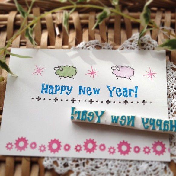 ・.・.・.・.・.・.・.・.・.・.・.・.・.・.・.・.・.・・.・.・.・Happy New Year!の年賀状作りに!!(^○^)一直線なので、斜... ハンドメイド、手作り、手仕事品の通販・販売・購入ならCreema。