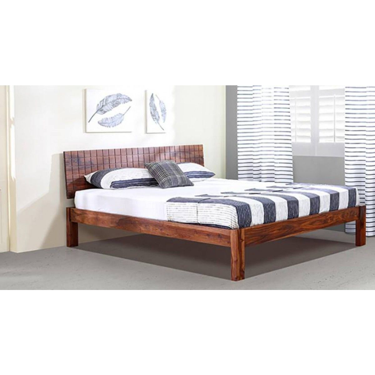 Valencia Designed Wooden King Size Bed In 2019 Wooden King