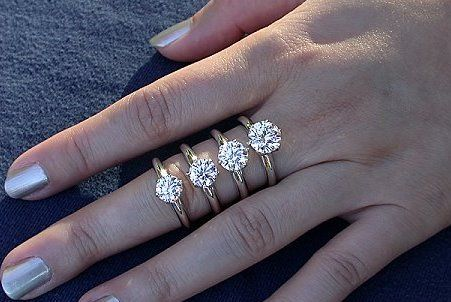 What Is The Average Diamond Size For An Engagement Ring Now You Could Ask Your Relatives And Friends Who Have Bought