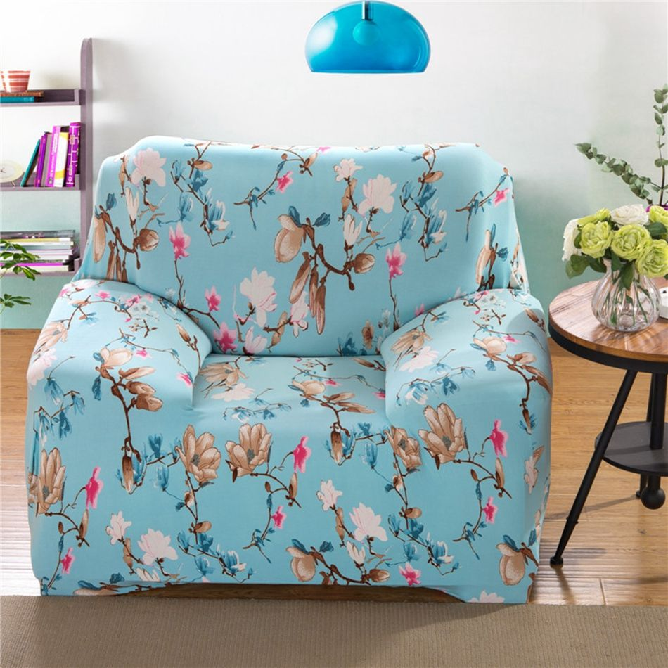 Sofa Sleeper  USD Blue couch sofa covers for living room polyester flowers corner sofa