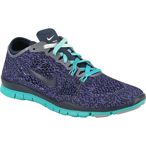 Nike Womens Free 5.0 TR Fit 4 Print Cross-Training Shoes