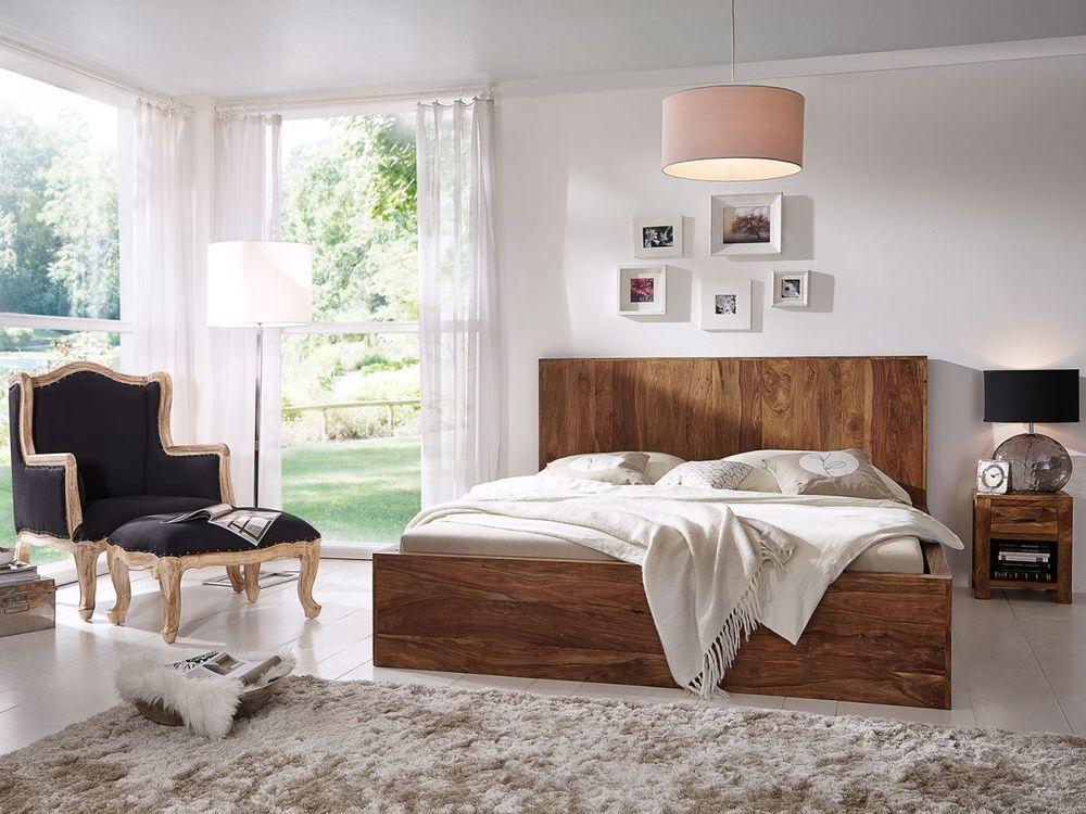bett 180x200 holzbett aus massivem palisander massiv holz m bel neu palison bett 180x200. Black Bedroom Furniture Sets. Home Design Ideas