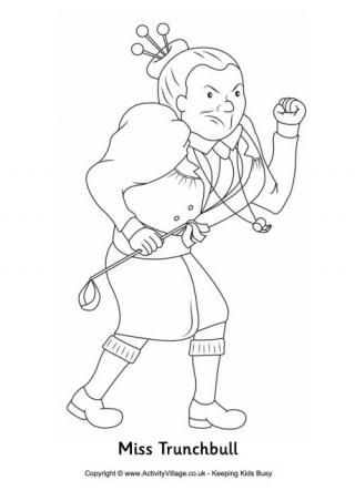 Matilda Coloring Pages Printable | Coloring Pages