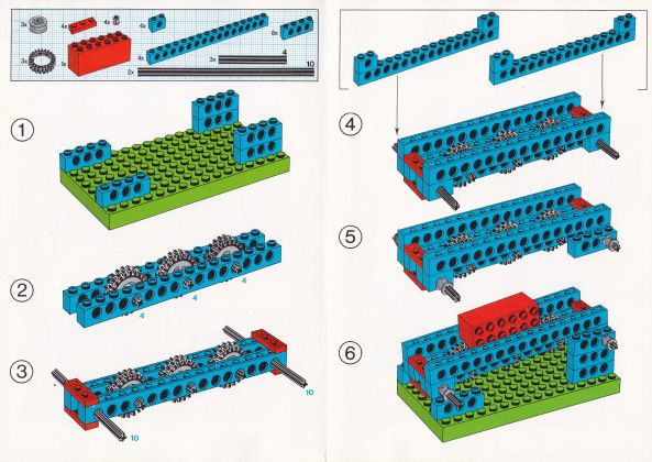 Конвейер лего щиток приборов на фольксваген транспортер т4
