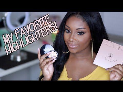my favorite highlighters  perfect for deep/dark skin
