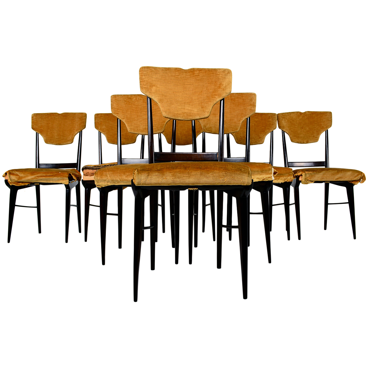 Mid Century Italian Dining Chairs Dining Chairs For Sale