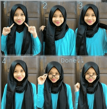 Model Hijab Pashmina Panjang