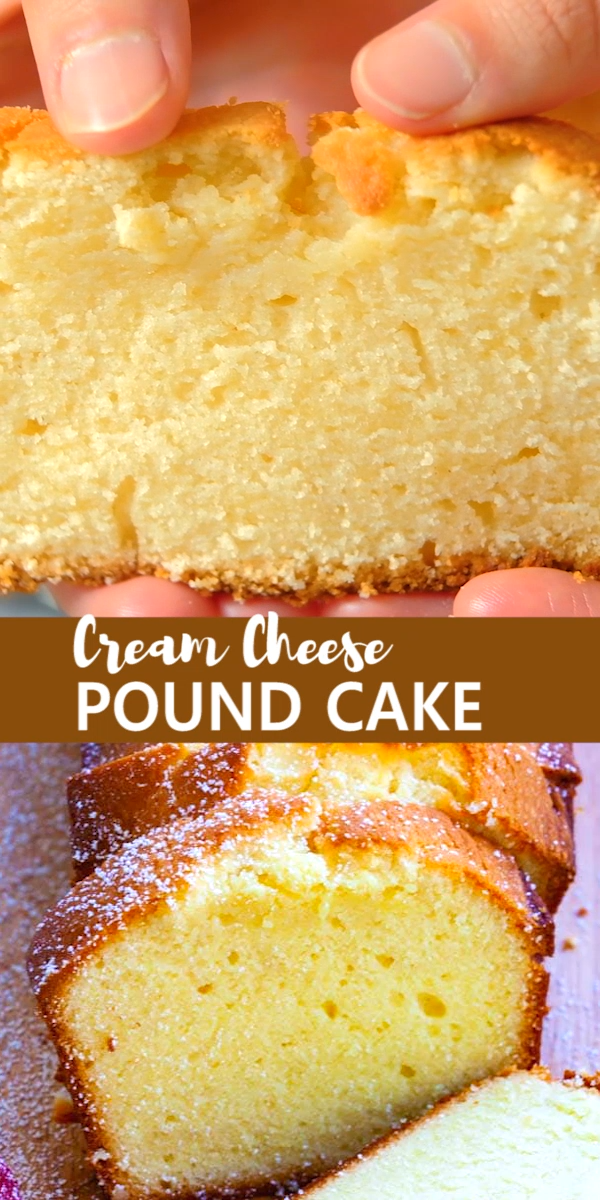 Photo of CREAM CHEESE POUND CAKE