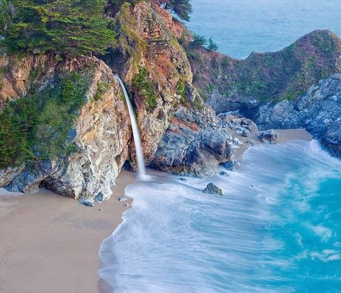 Cascata Mac Way Big Sur California