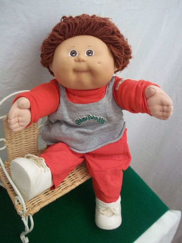 Vintage 1978 1982 Cabbage Patch Kid Red Hair With Original Clothes Vintage Cabbage Patch Dolls Cabbage Patch Kids Patch Kids