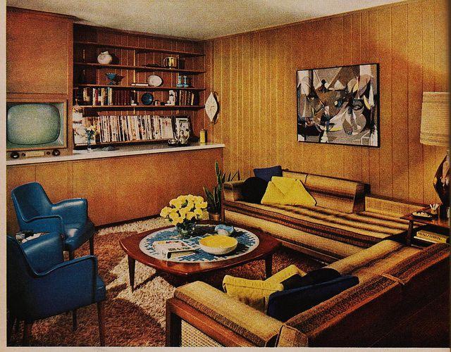 Better homes and gardens interior design decor 1960s - Better homes and gardens interior designer ...