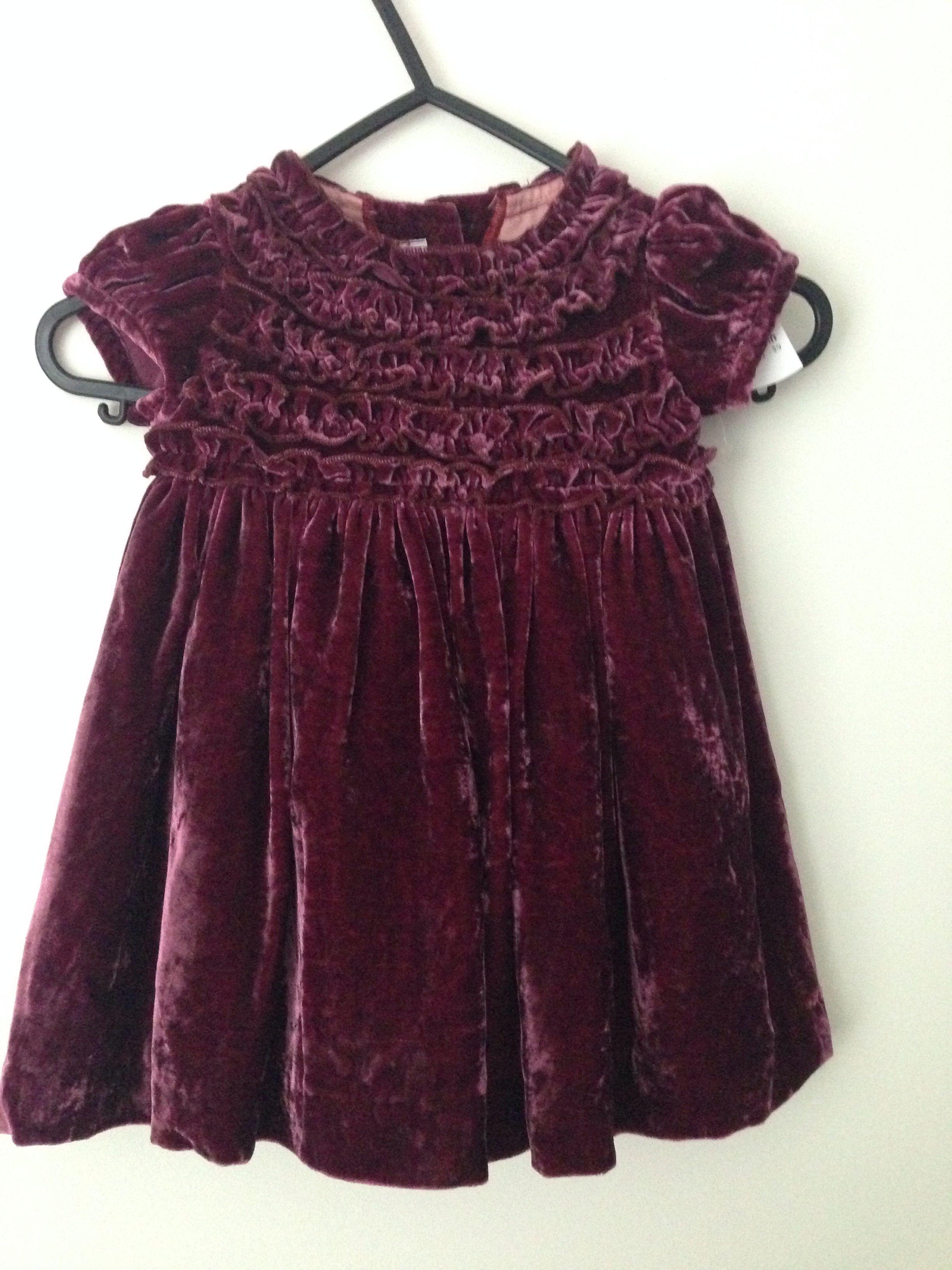 1591e9a0749c7 Baby girl velvet Dress for 1 year old | Kid's Custume & Fashion ...