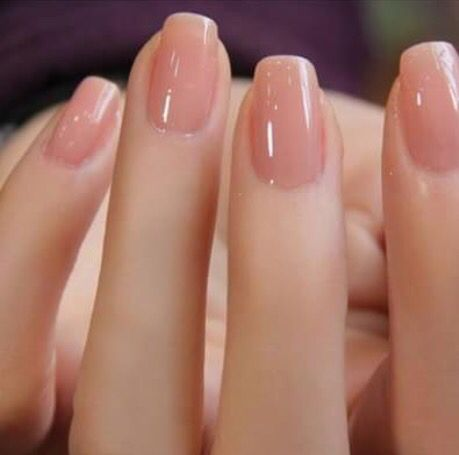 Short neutral … | Ransoms | Nails, Trendy nails, Nude nails