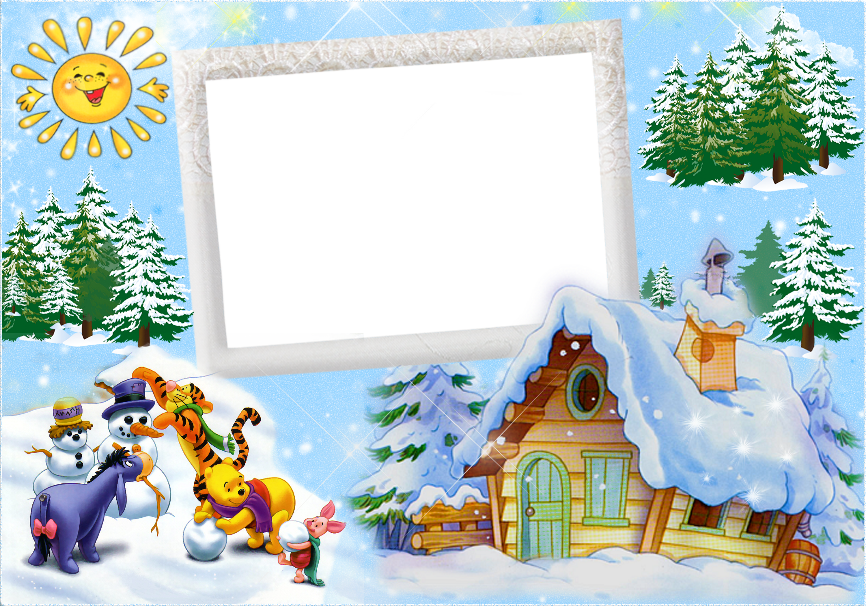 Детские картинки о зиме для оформления