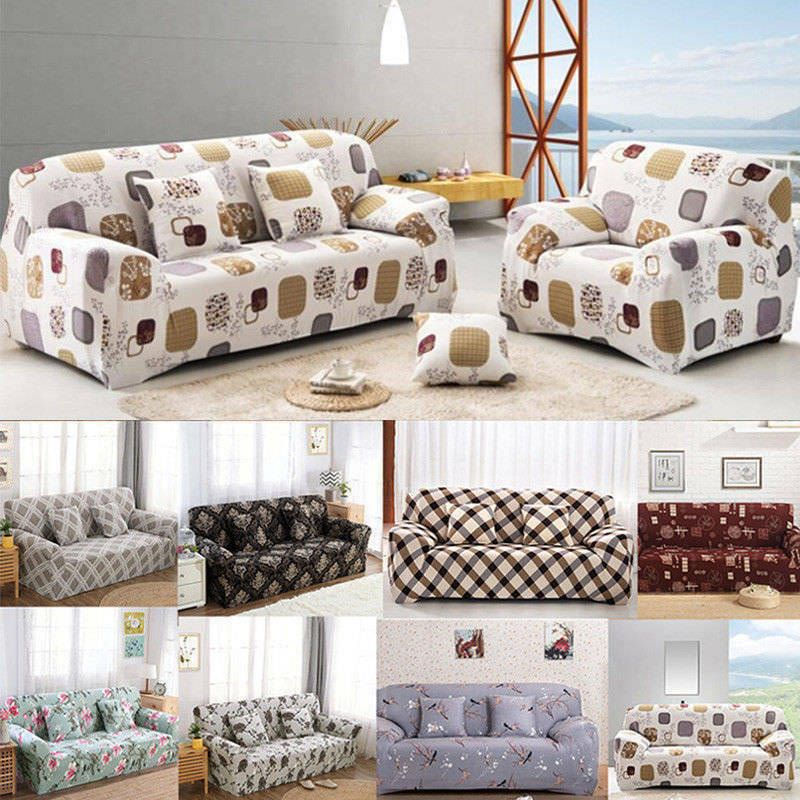 Furniture Pet Protector Throw 1//2//3 Seater Quilted Waterproof Sofa Slip Cover