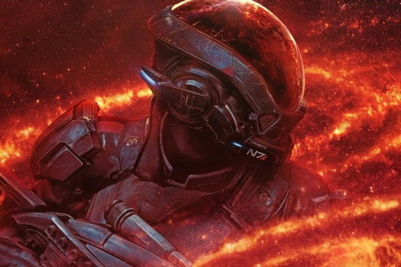 Mass Effect Andromeda A Hd Wallpaper Background Id 790694 Mass Effect Hd Wallpaper Background Images