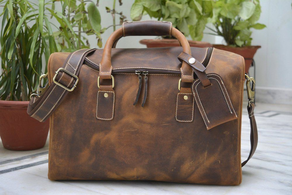 d882b6de9688 Excited to share the latest addition to my  etsy shop  Leather Travel Bag