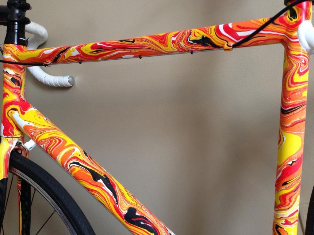 Pin By Kristijan Falak On Bicikle Bicycle Paint Job Bicycle