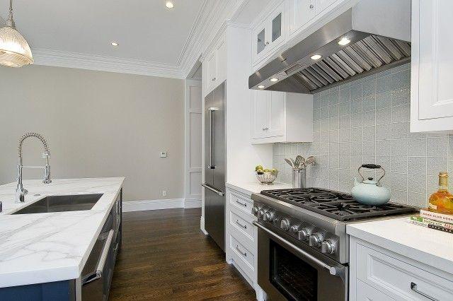 Benjamin Moore Balboa Mist Kitchen And Bathroom Downstairs