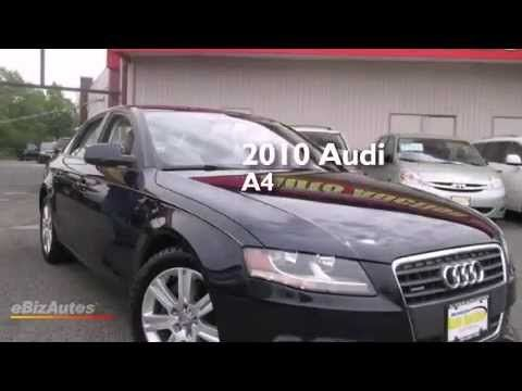 2010 Audi A4 New Jersey State Auto Auction Used Cars Nj Ny Pa