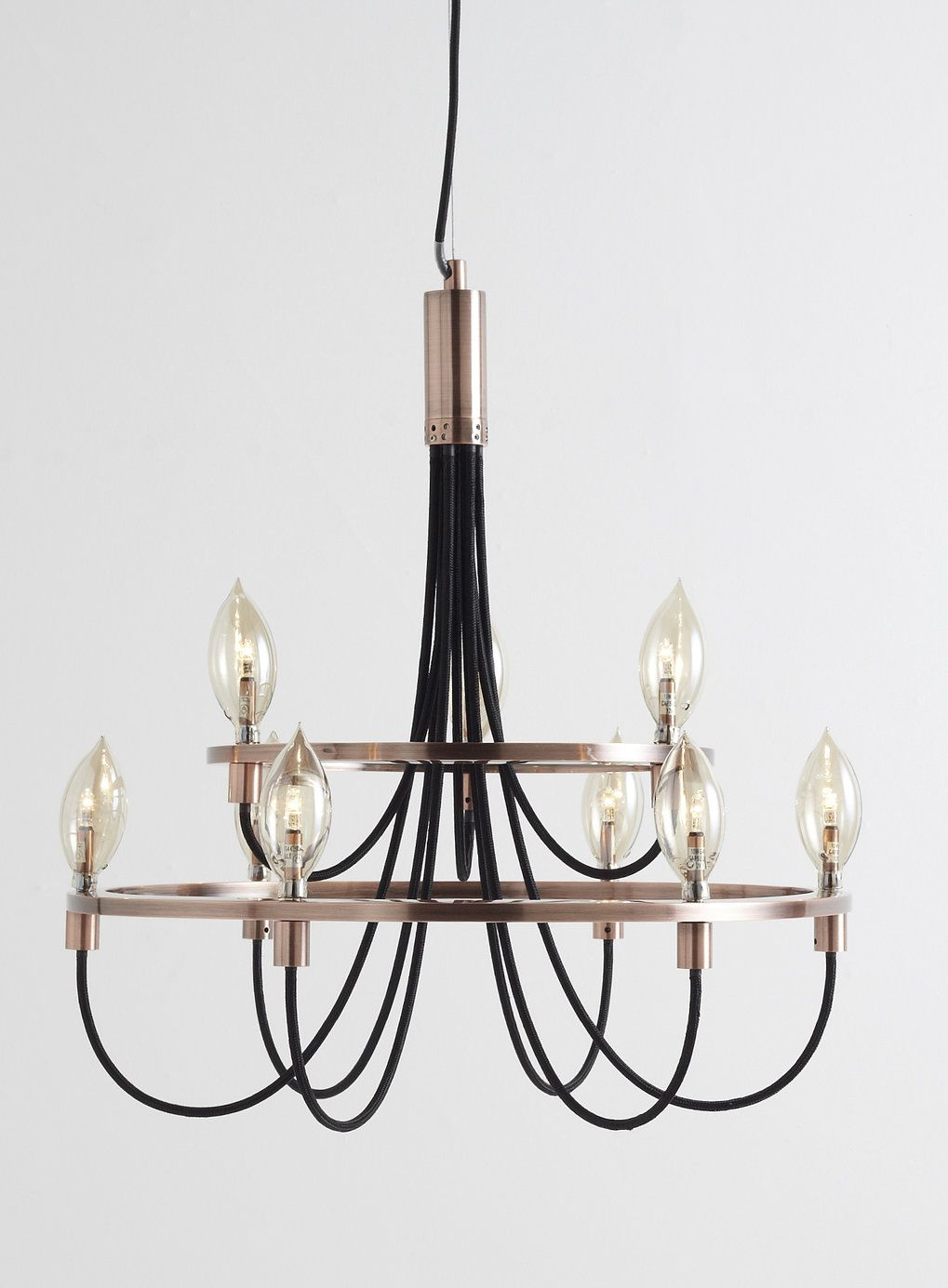 Bathroom Chandeliers Bhs copper frederica candelabra ceiling light - bhs | for the home