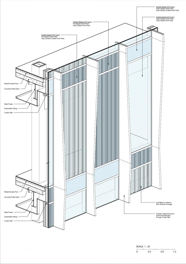 Curtainwall Detail Facade Architecture Facade Design Architect