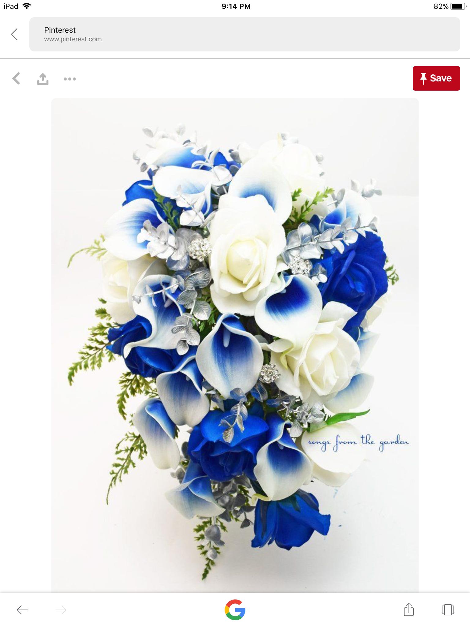 Pin By Belen Ortiz Amado On Julie S Private Wedding Board Blue Wedding Flowers Cascading Bridal Bouquets Bridal Bouquet Blue