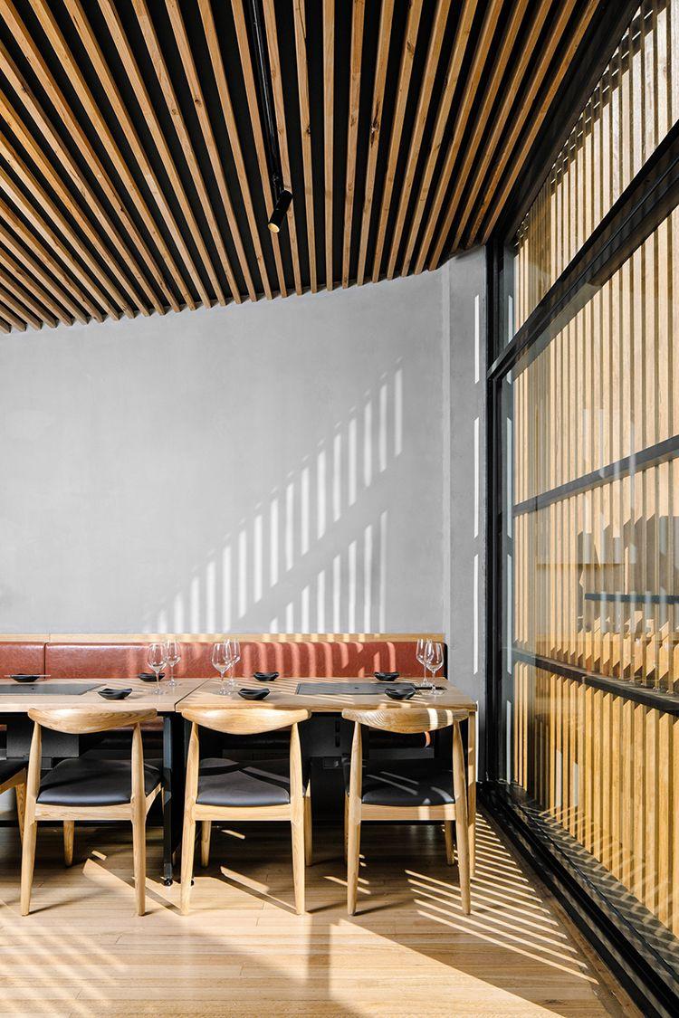 Biasol Designs Korean Barbeque Restaurant Hinoak In