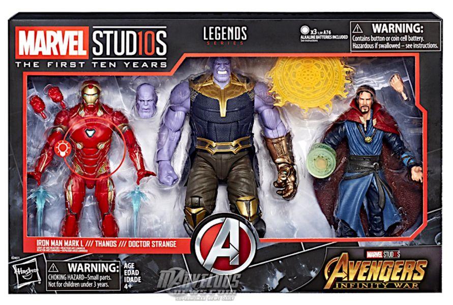 """Hasbro Marvel Legends Avengers Endgame Set of 7 /& BAF Thanos 6/"""" New In-Stock"""
