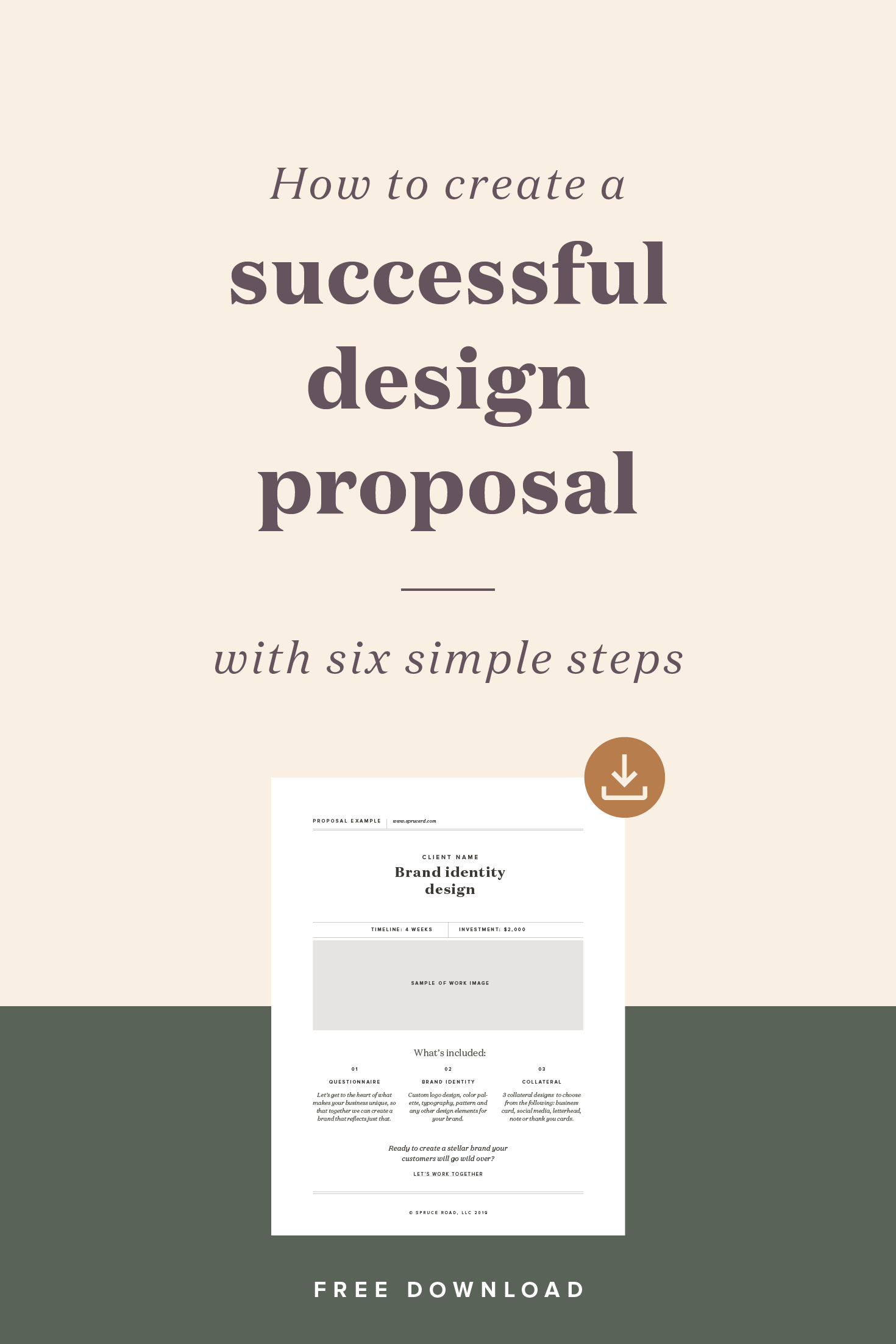 How To Create A Successful Design Proposal Graphic Design Clients Web Design Proposal Graphic Design Business
