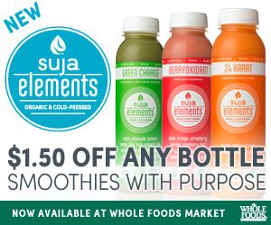 There are currently 0 Suja Promotion Codes and Suja Coupons.