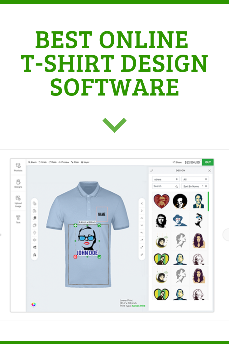 Best Online T Shirt Design Software T Shirt Design Software Software Design Tshirt Designs
