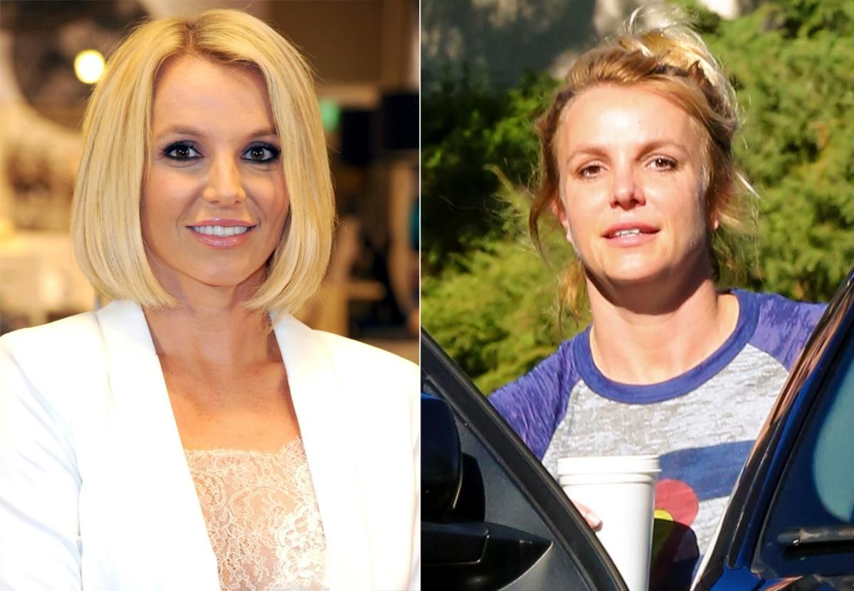 Britney Spears steps out in California wearing no makeup.